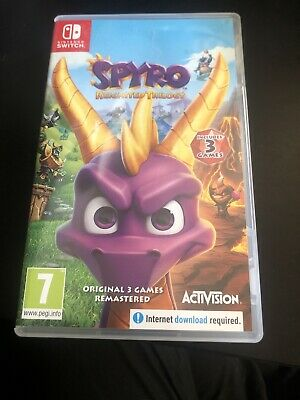 Spyro Reignited Trilogy Nintendo Switch Game