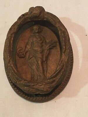 Victorian Door Knocker Brass Antique Large 6 X 4.5 InchLady Woman