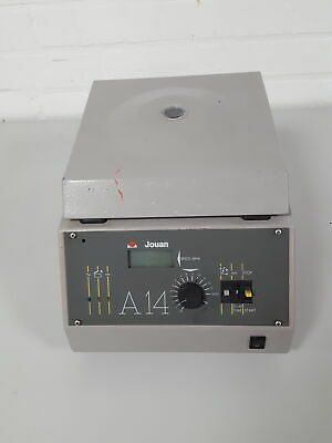 Jouan A-14 Benchtop Centrifuge + Rotor 14000rpm Lab