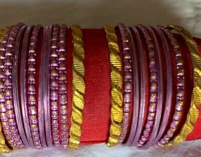 Costume Fashion bangle indian bollywood 20 chudiya / Bangles/ Bracelet kids size