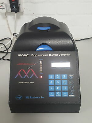 MJ Research PTC-100 Programmable PCR DNA Thermal Cycler Lab