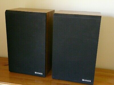 Hitachi Vintage SS-8510G Hi-Fi Speakers in excellent condition