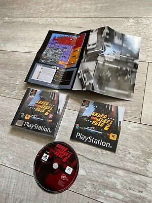 ps1 gta2 complete with booklet grand theft auto and map Playstation 1