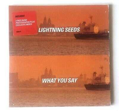 1079 Lightning Seeds What You Say Cd Single + Postcards
