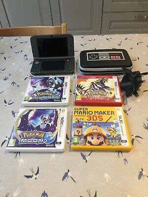 Nintendo 'New' 3DS XL and 4 Games inc. case and charger