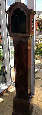 Whittington Westminster Grandmother Clock Mahogany Damaged H Lamb Hartlepool