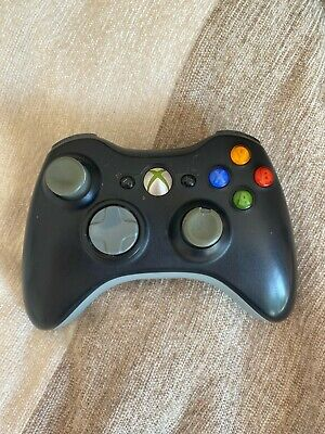 Microsoft Xbox 360 Black Wireless Controller - Spares