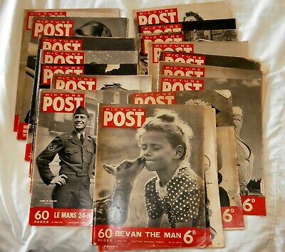 "Twenty Copies  1951/2 ""Picture Post"" Magazine"