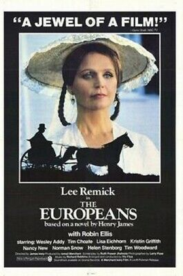 16mm full feature THE EUROPEANS. Lee Remick, Robin Ellis (1979).