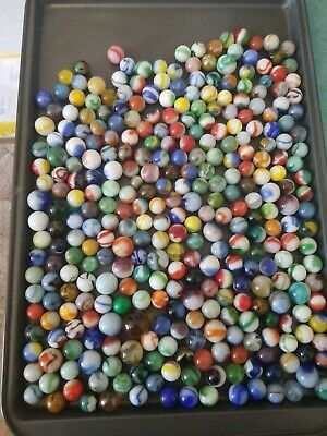 Vintage Mixed Marbles Lot #33