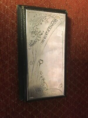 Russian Pre-Revolution Silver Fronted Guest/Notebook