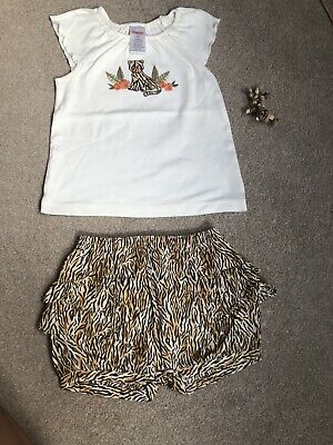 Gymboree Leopard Print 🐅Outfit Inc Hair Clip Size 2 Years