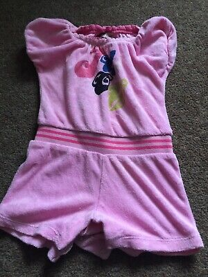 Juicy Couture Girls Towelling Playsuit Size 18-24 Months
