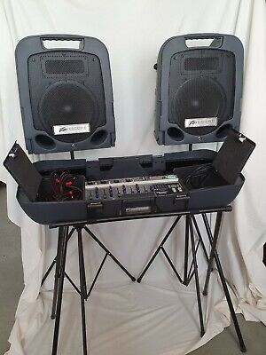 Peavey Escort 2000 Sound System Mixer and Speakers PA Singer/Band/Musician