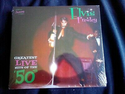 Elvis Presley Greatest Live Hits Of The 50s Sealed MRS CD