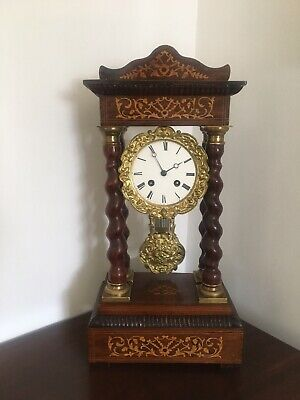 Attractive Antique French Mantle Clock
