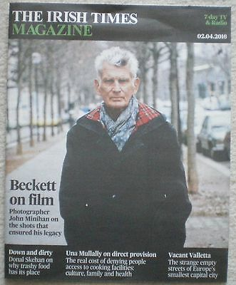 Samuel Beckett – Irish Times Magazine – 2 April 2016