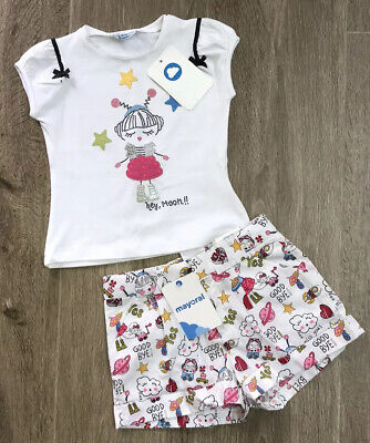 Mayoral Girls Outfit Shorts & T Shirt BNWT RRP £42 ‼️‼️Age 3 Yrs ‼️‼️