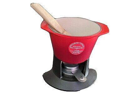Le Creuset Fondue Set Never Used, Without Box Red