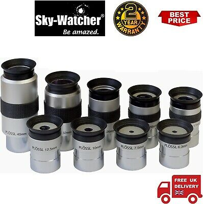 Sky-Watcher Super Plossl 9 Pieces Eyepiece Set (UK Stock)