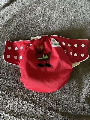Bottombumpers Cloth Diaper One Size Reindeer