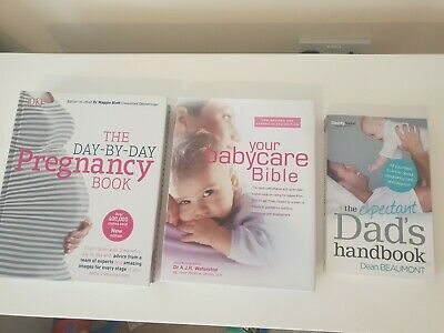 Pregnancy Books Bundle for Mom and Dad 3 books RRP£63.00