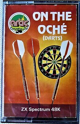 On The Oche (Darts) Artic Sinclair ZX Spectrum Games Sports: Darts