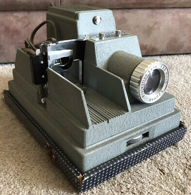 Vintage Roman Slide AFx300 Samoca Slide Projector (working)