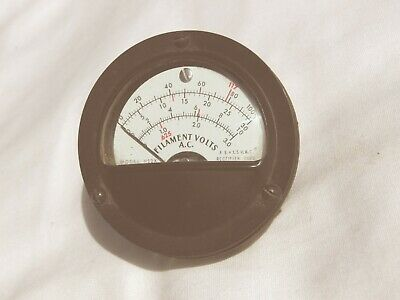 TV-2 Tube Tester Meter - FILAMENT VOLTS - Working Condition