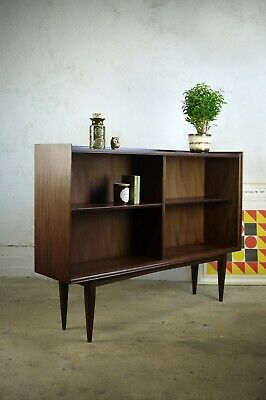 Vintage Mid Century Richard Hornby Heals Shelves Display Sideboard Bookcase Teak