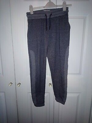 Boys Extra Small Primark Navy Blue Stripe Stretch Joggers Lounge Jogging Bottoms