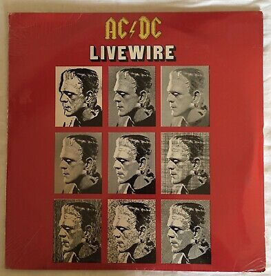 AC/DC  RARE Live Wire Dbl Vinyl LP. 1981 Release & STILL SEALED.. Bon Scott