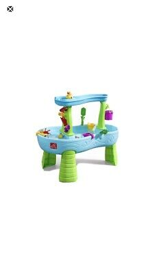 Step2 Rain Showers Splash Pond Water Table With 13 Piece Accessory Set