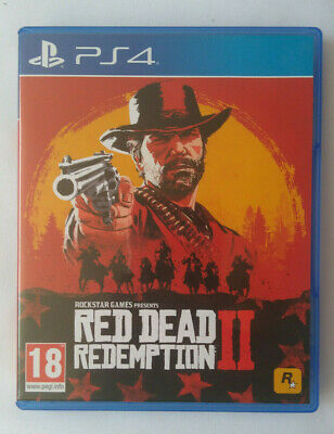Red Dead Redemption 2 PS4 (RDR2, PlayStation 4)