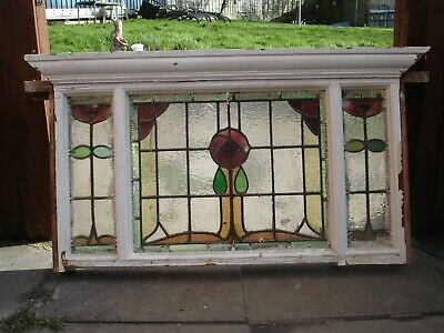 Vintage Piece of Stain Glass