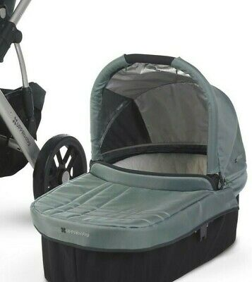 UppaBaby Vista Bassinet Only (Color: Green Carlin) - Never Used in Original Box