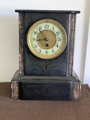 Mantle Clock in a marble/slate case