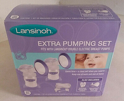 Lansinoh Extra Pumping Set Factory Sealed New!!! - Fast Shipping!!!