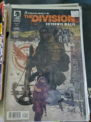 Tom Clancy's The Division Extremis Malis # 1 & 2 Dark Horse Comics run filler