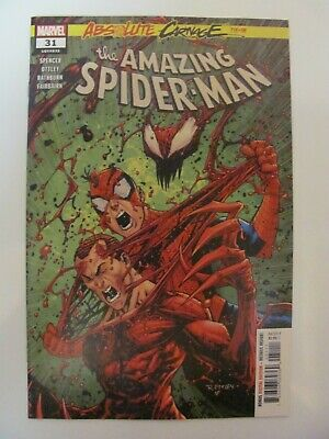 Amazing Spider-Man #31 Marvel 2018 Series Absolute Carnage 9.6 Near Mint+