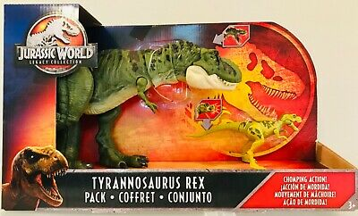 NEW Jurassic World Legacy Collection TYRANNOSAURUS REX Pack Dinosaur Mattel Park