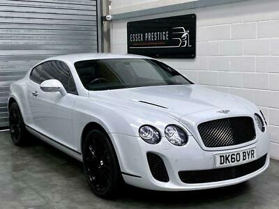 2010 Bentley Continental 6.0 GT Supersports Coupe 2dr Petrol Automatic