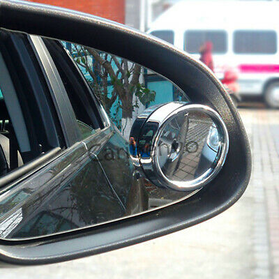 Car Driving Security Side Mirror Round Glass Convex Blind Spot Mirror 2Pcs/Set