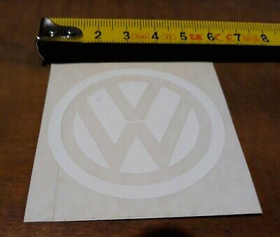 VW Logo Aufkleber Sticker, Transparent, Volkswagen