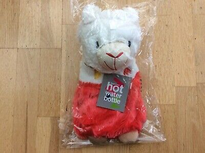 Bnwt & Sealed Cute Baby Lamb Hot Water Bottle & Cover - Reduced Only £2.50******