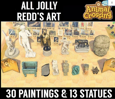 Animal Crossing New Horizons ALL 70 Art Pieces!!! Real + Fake Pieces!