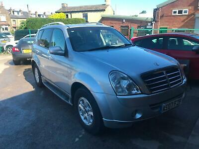 2007 Ssangyong Rexton 2.7TD ( 165bhp ) 4X4 Auto SX SILVER FULL LEATHER