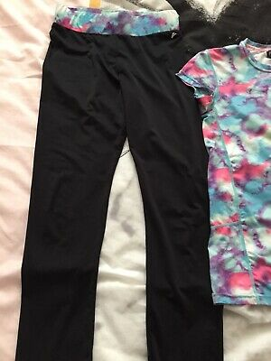 Girls Stay Active Leggings And T Shirt Age 11-12