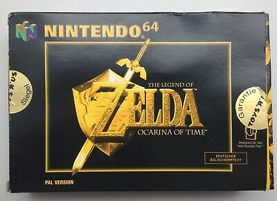 Nur OVP! The Legend Of Zelda: Ocarina Of Time (Nintendo 64, 1998)