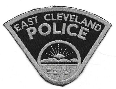 East Cleveland OHIO OH Police patch subdued SWAT tactical SRT